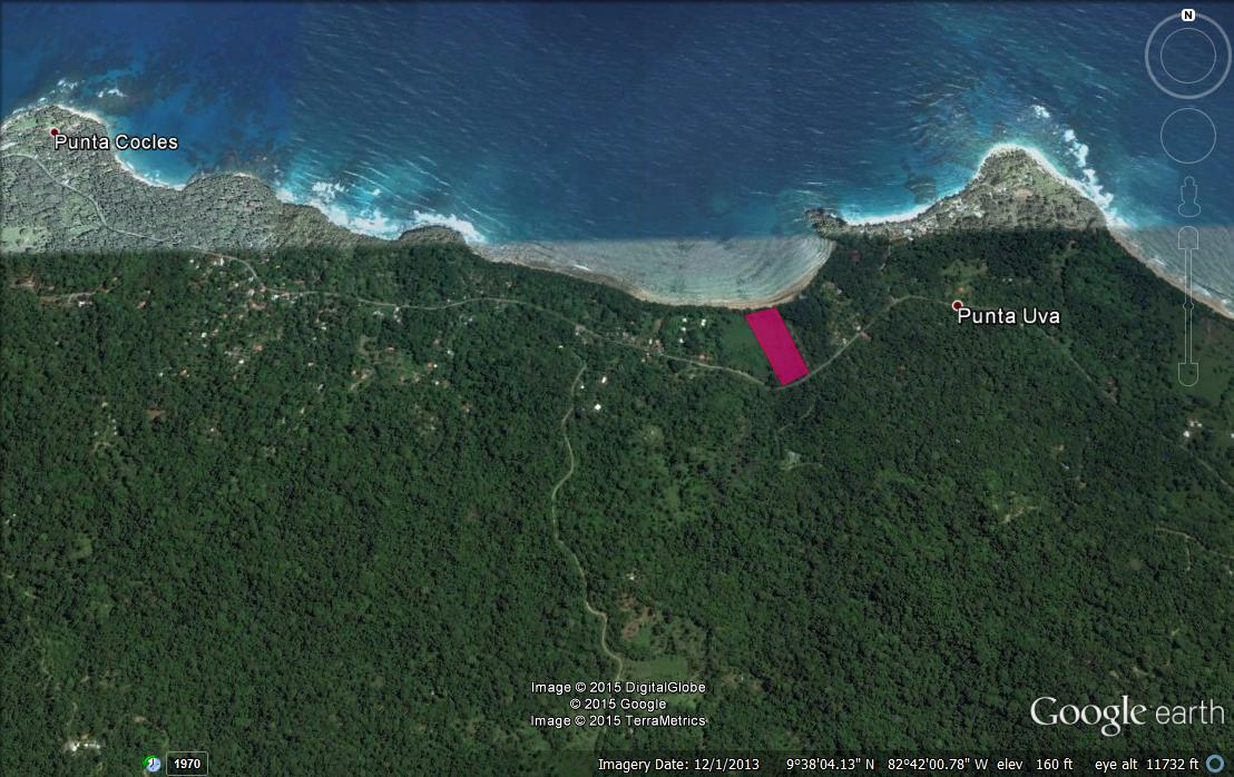 Punta Uva Beach Front Lot-fire Sale-1.25 Acre