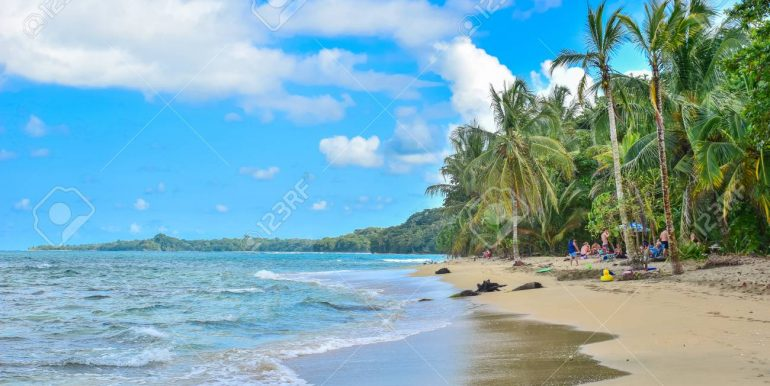 Playa Cocles - beautiful tropical beach close to Puerto Viejo - Costa Rica